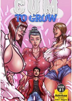 Cum to Grow Bot Comics 01