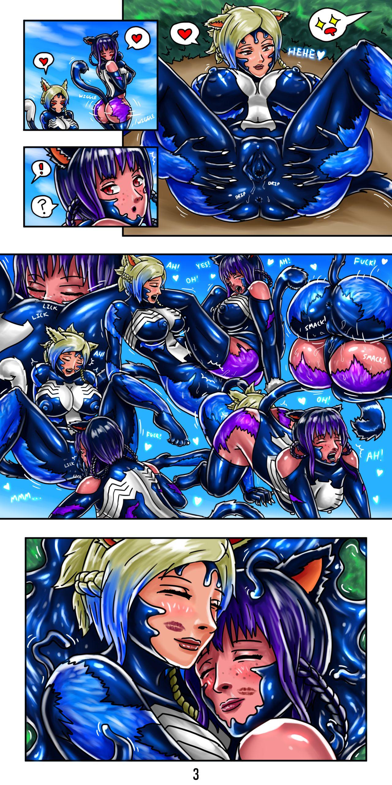 SpaceNCakes Symbiote Works 04