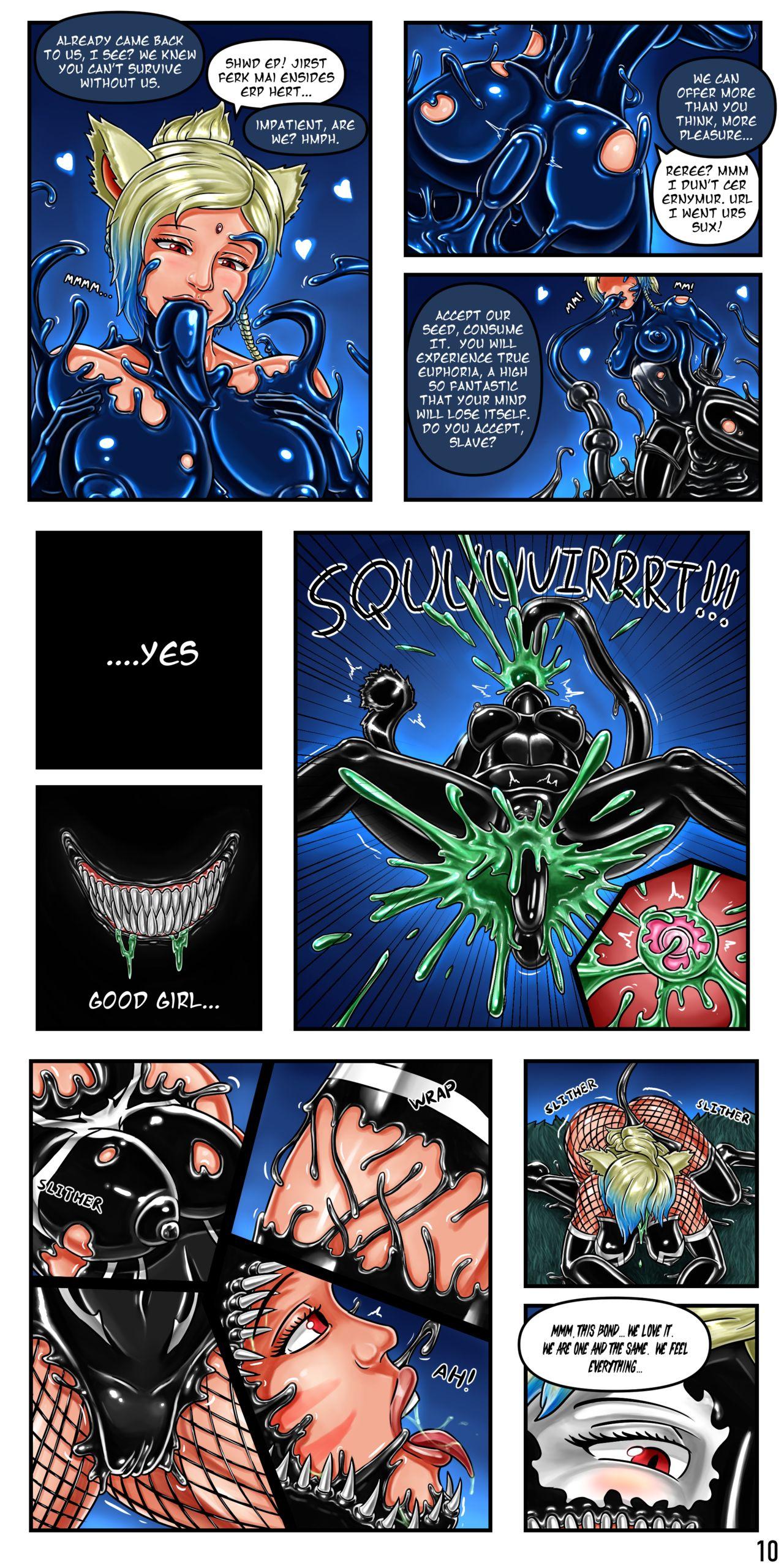 SpaceNCakes Symbiote Works 11