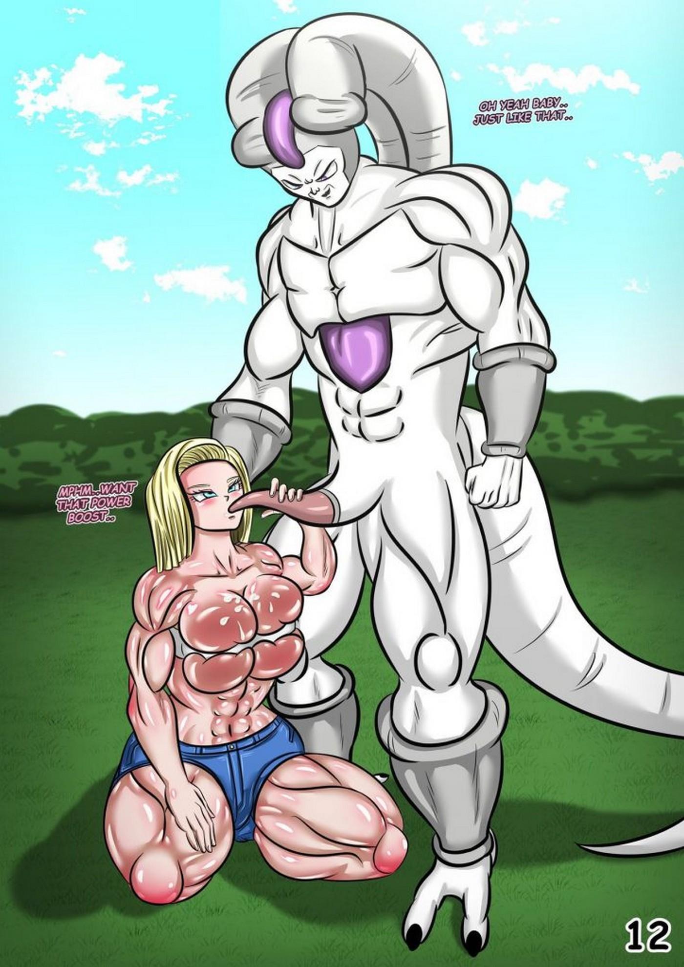 18s Deal Dragon Ball Super Magnificent Sexy Gals 13