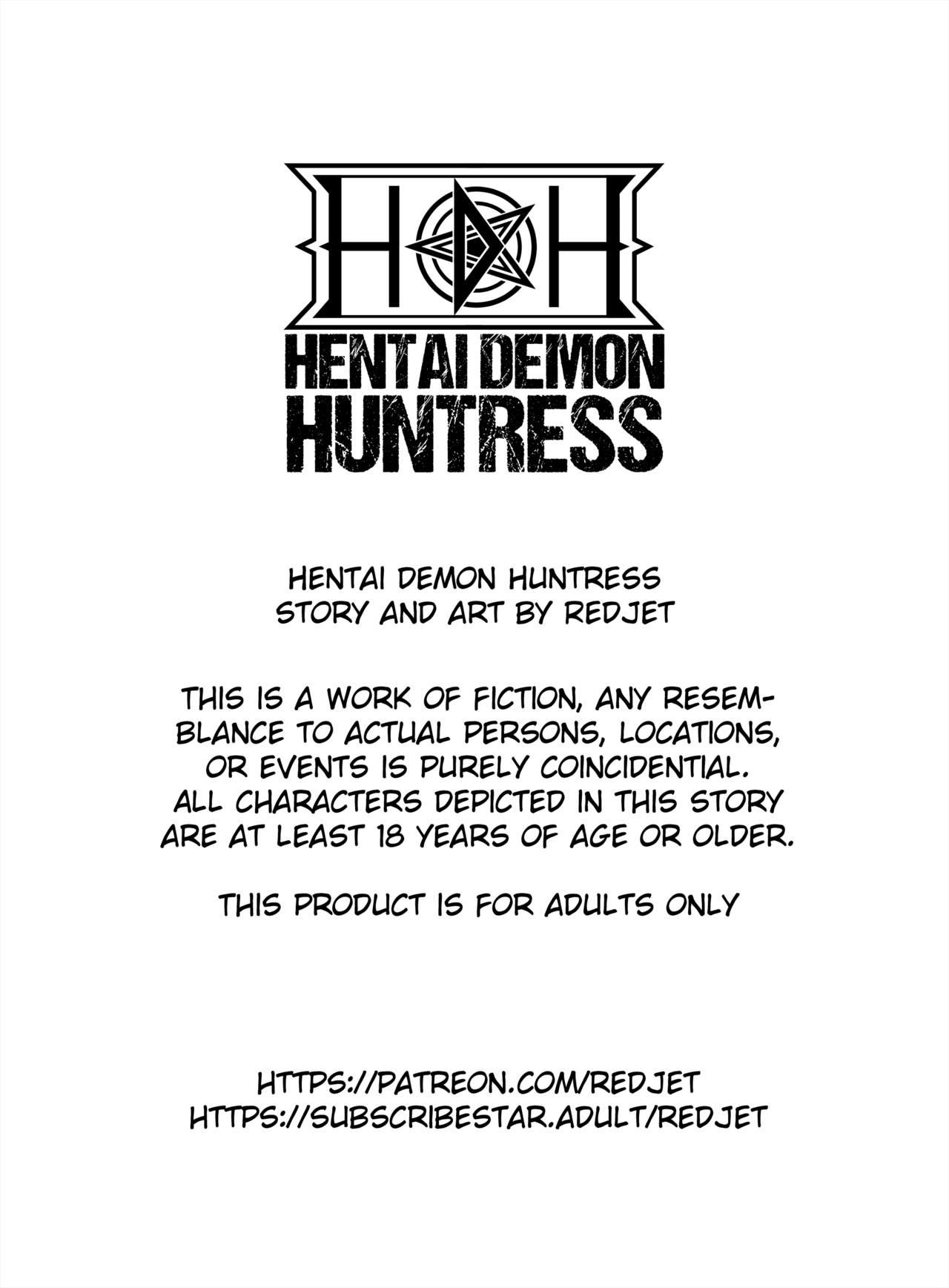 Hentai Demon Huntress Chapter 5 Redjet 02