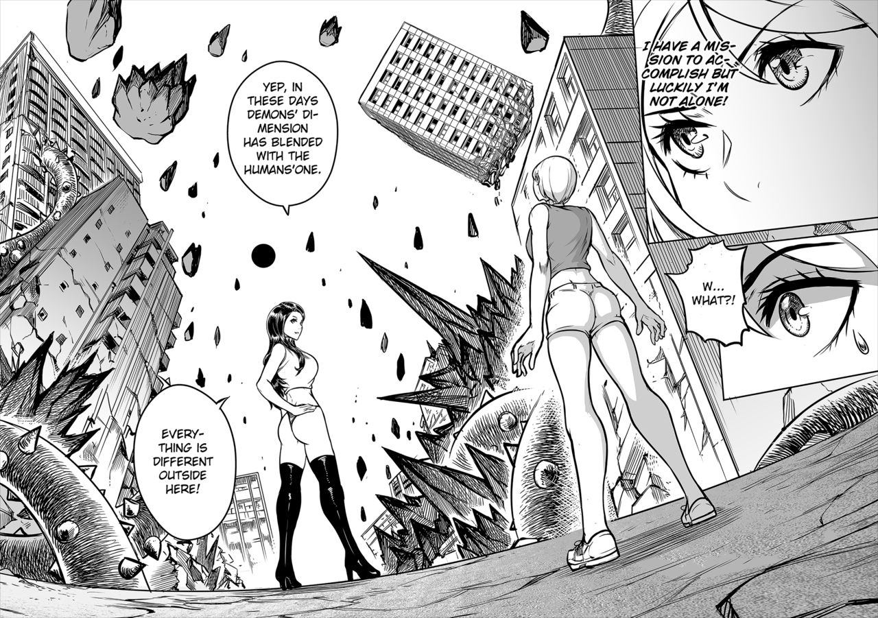 Hentai Demon Huntress Chapter 5 Redjet 10