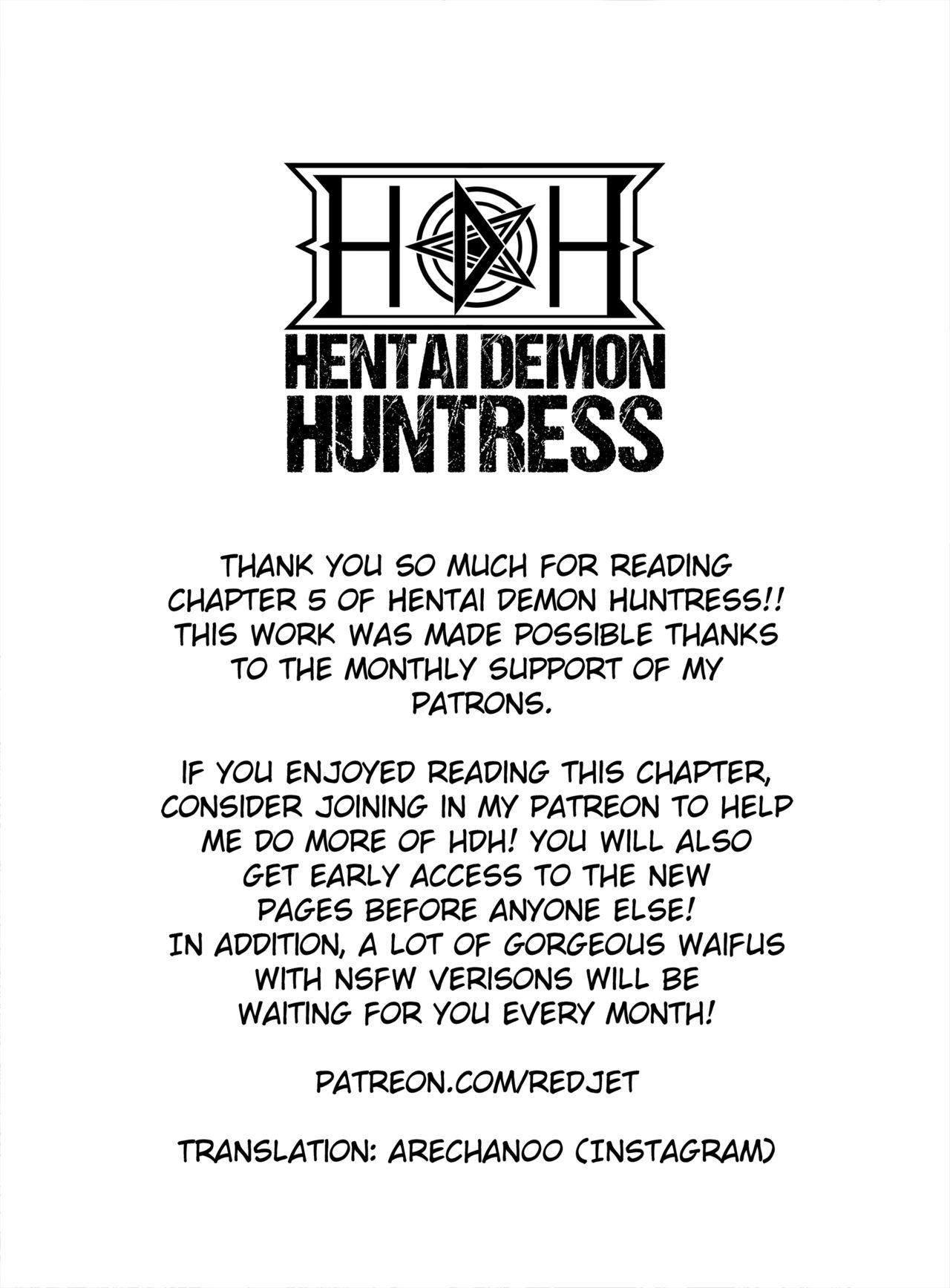 Hentai Demon Huntress Chapter 5 Redjet 21