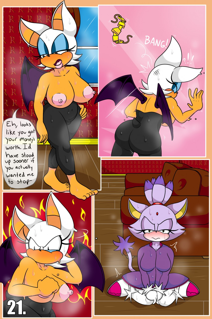 Rouge and Blaze in House Call 21