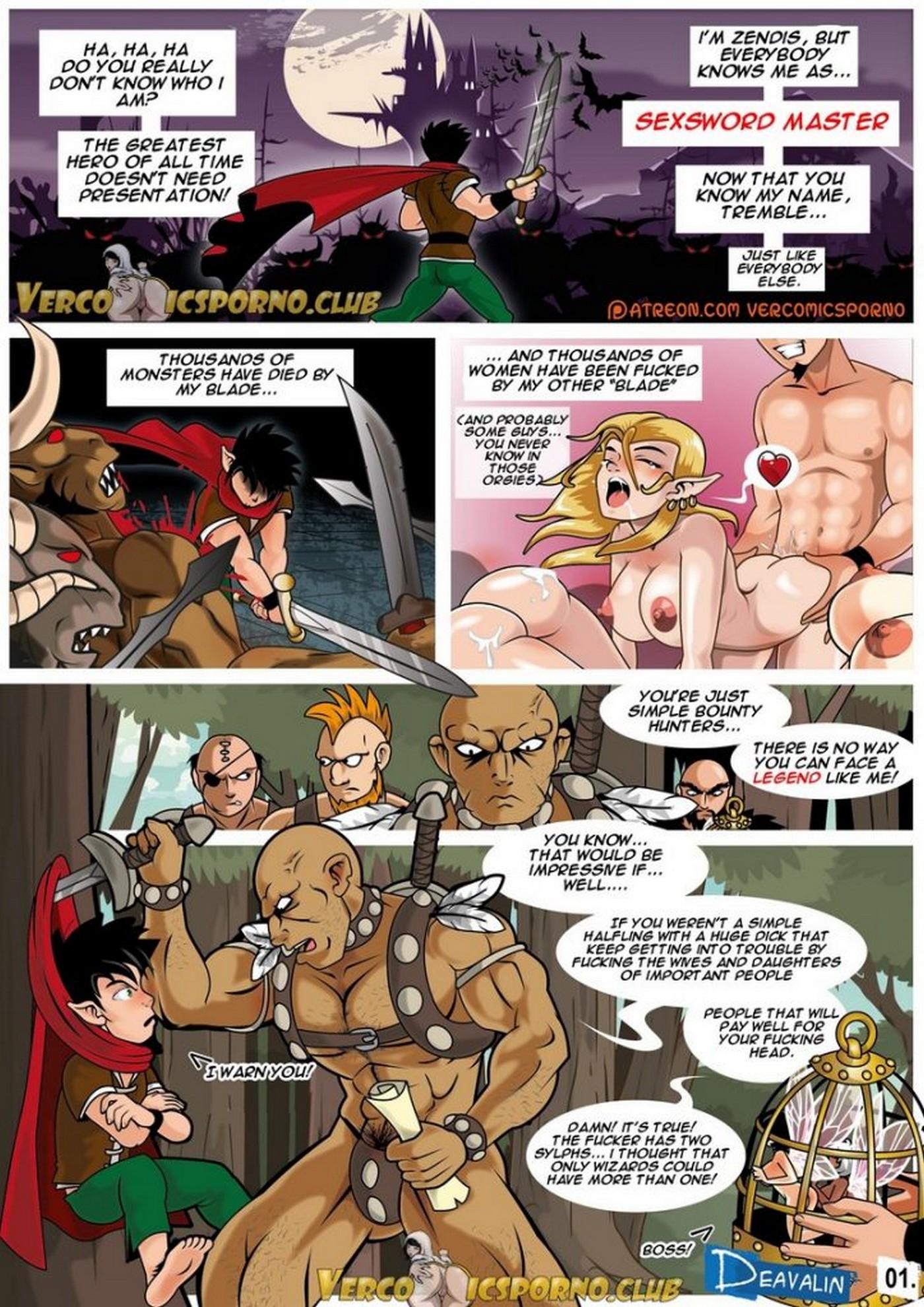 Sexsword Legends Deavalin 02