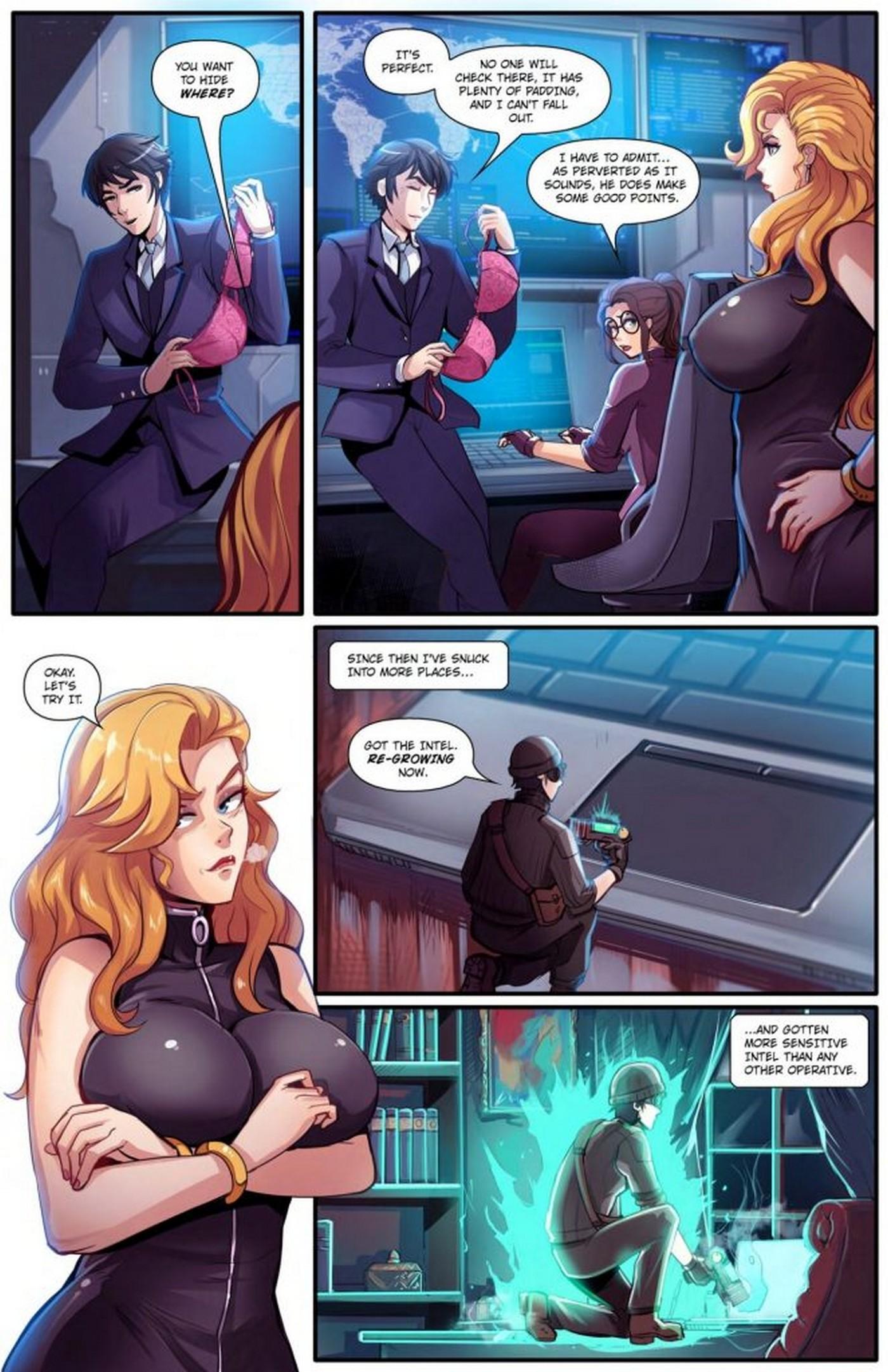 Super Spy GiantessFan 05