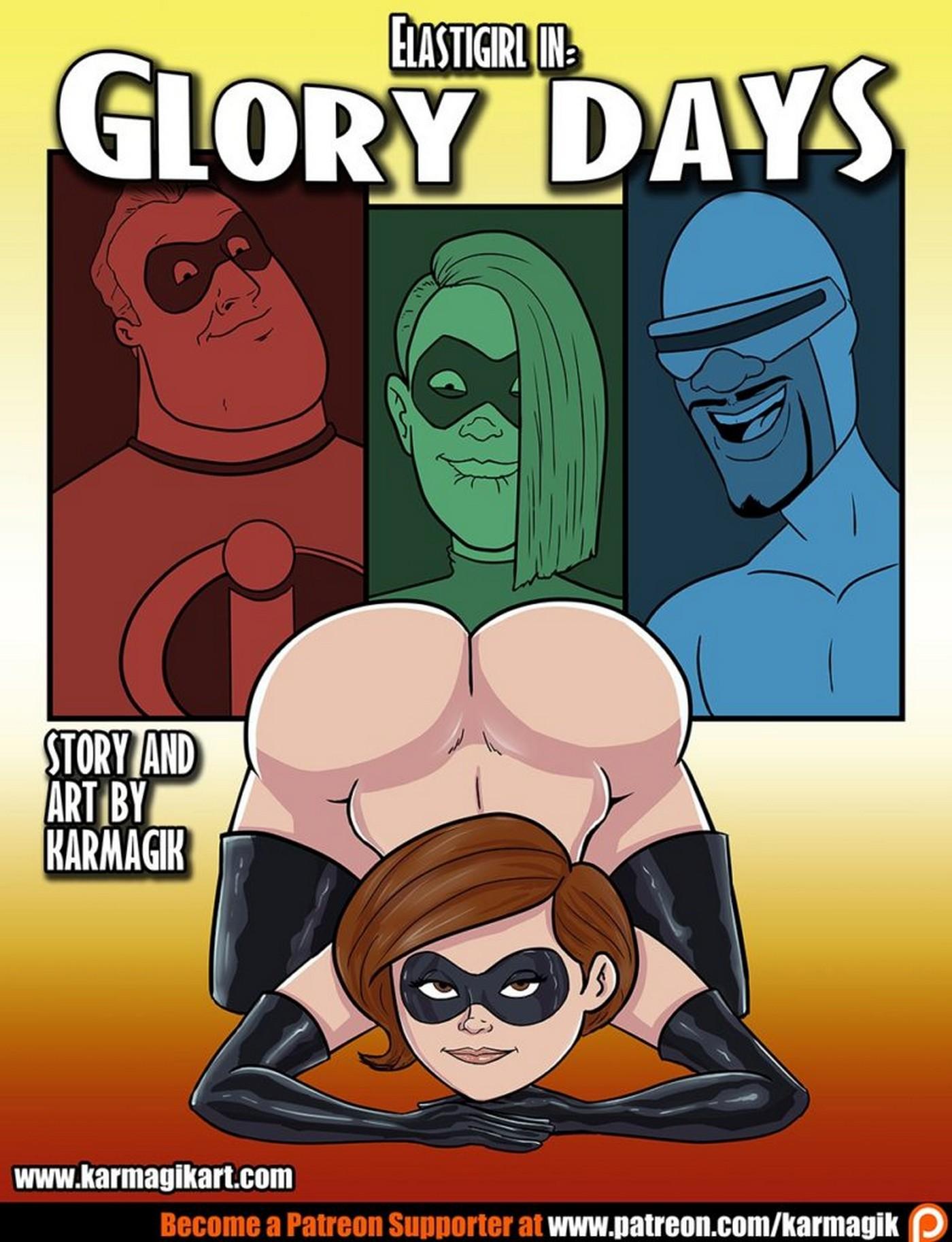 The Incredibles Elastigirl in Glory Days 01