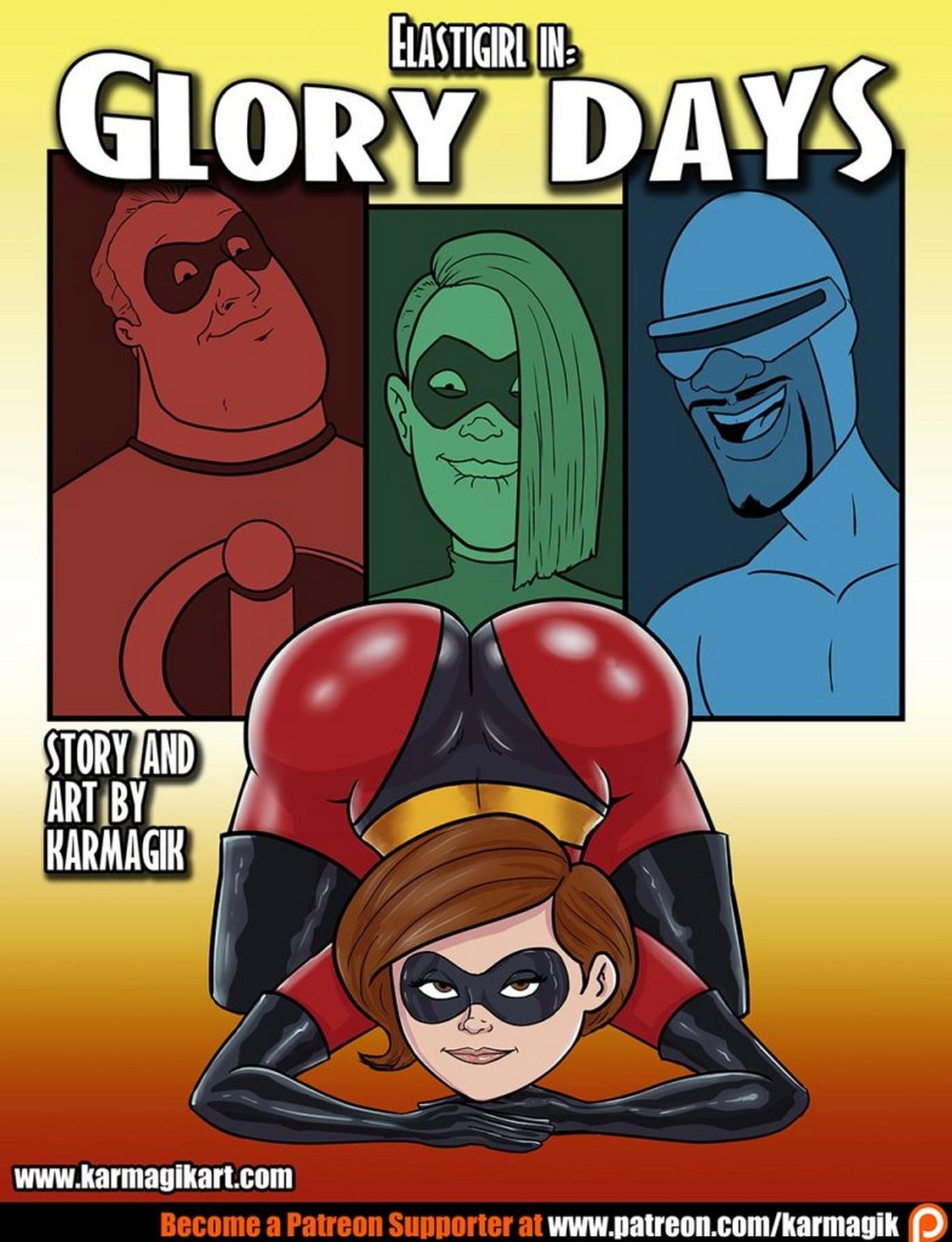 The Incredibles Elastigirl in Glory Days 02