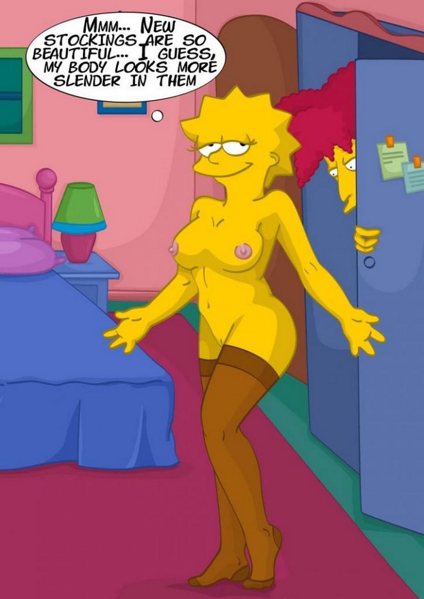 Unbidden Guest At Simpsons House Incest Comix 02