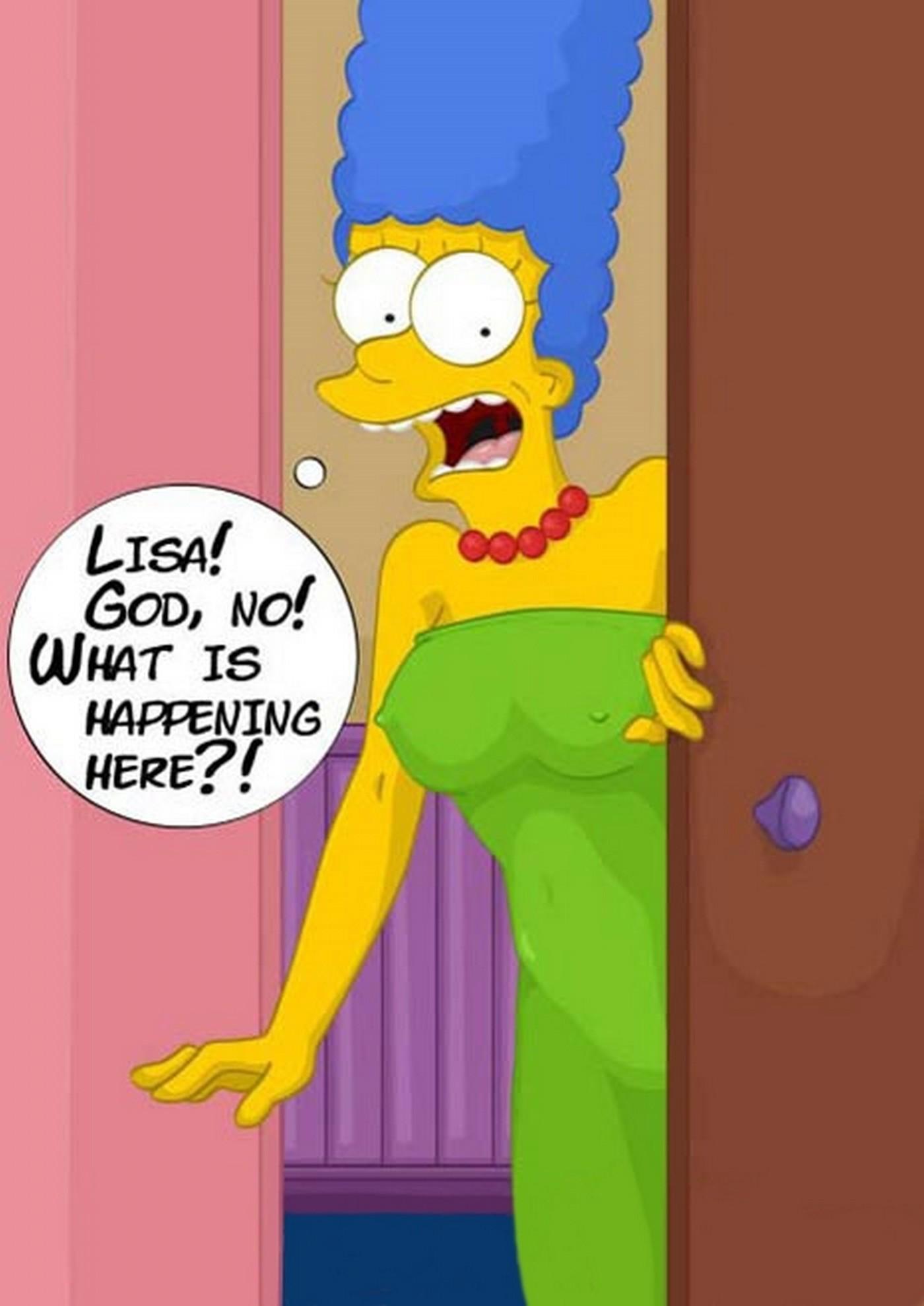 Unbidden Guest At Simpsons House Incest Comix 06