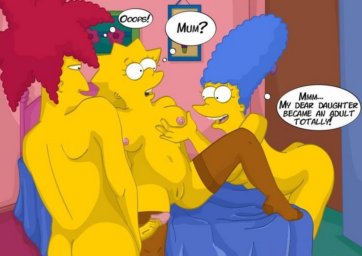 Unbidden Guest At Simpsons House Incest Comix 07