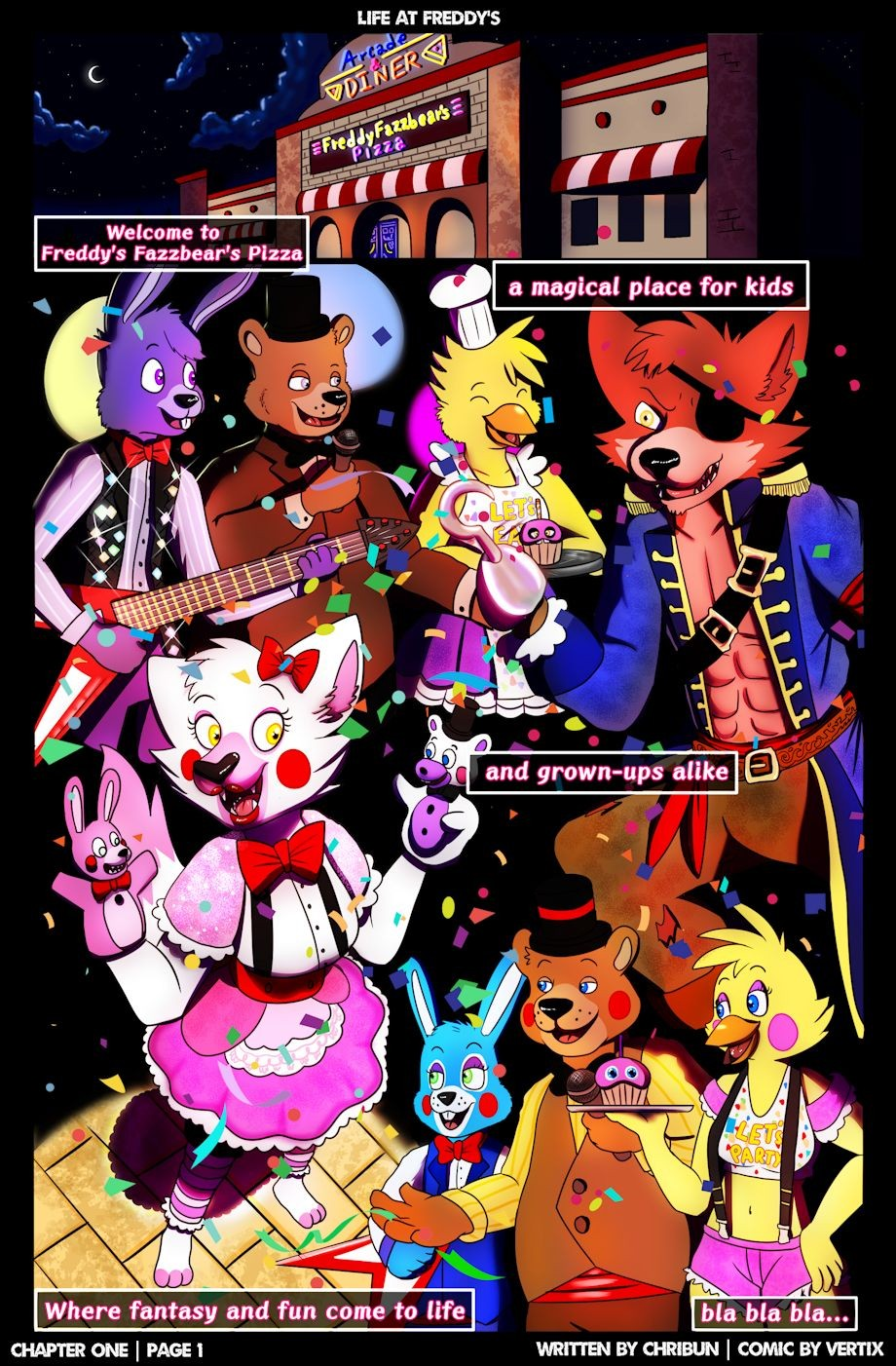 Five Nights At Freddys Life At Freddys Chapter one 06 4