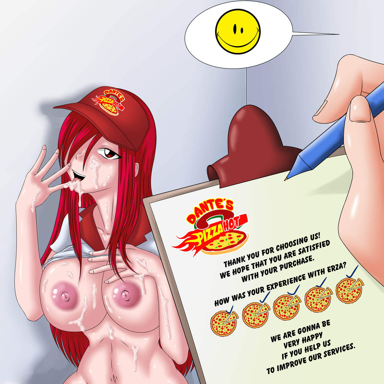 Pizza Delivery Service by Erza Scarlet 12